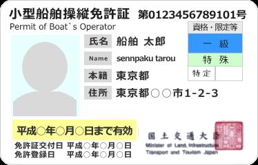 小型 船舶 免許 更新